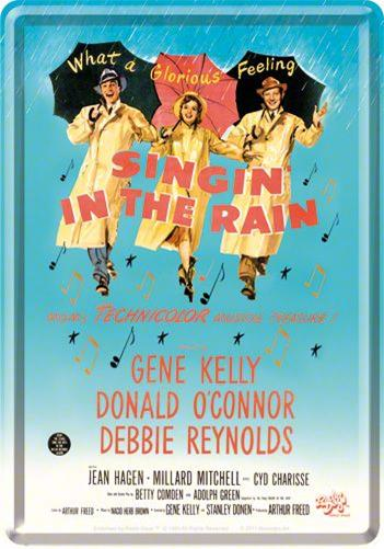 CARTE POSTALA SINGING IN THE RAIN