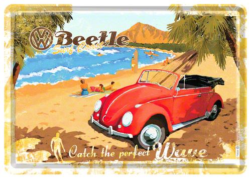 Carte postalaVW BeetleReady for theBeach