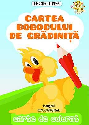 CARTEA BOBOCULUI DE GRADINITA