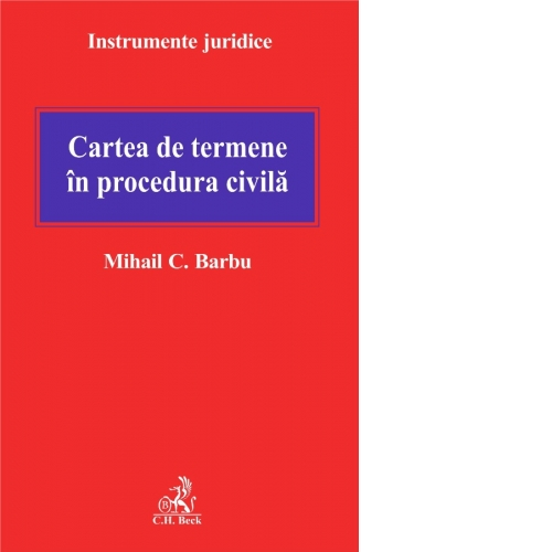 CARTEA DE TERMENE IN P ROCEDURA CIVILA