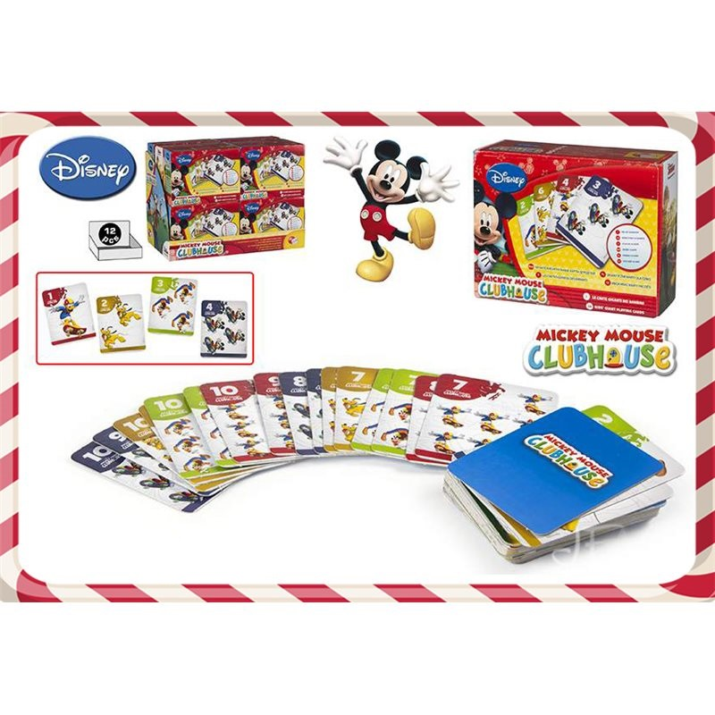 Carti de joc mari,Mickey,ColorBaby