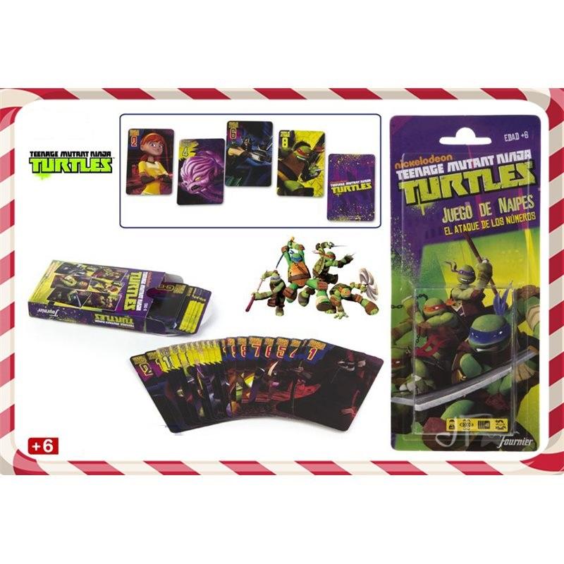 Carti de joc Turtle Ninja,6ani,ColorBaby