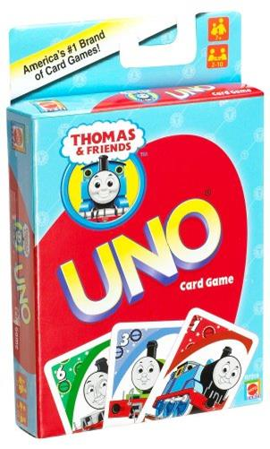 Carti de joc Uno, Thomas & friends