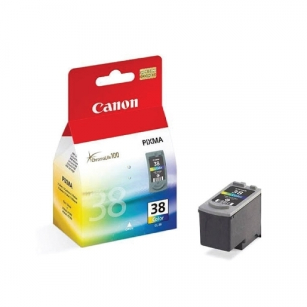 Cartus color Canon CL38 .