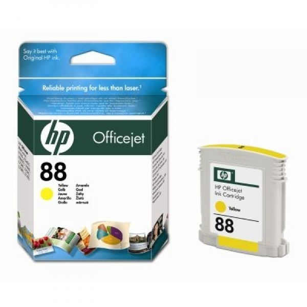 Cartus color HP nr.88 Yellow (C9388AE)