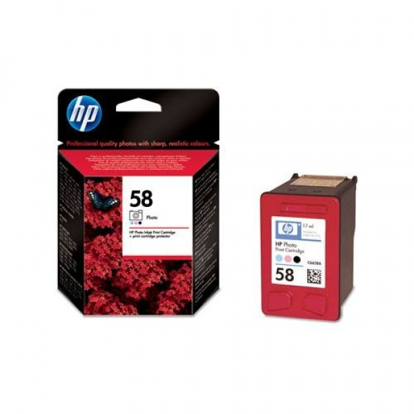 Cartus foto HP C6658A nr.58 pt.seria DJ555x,