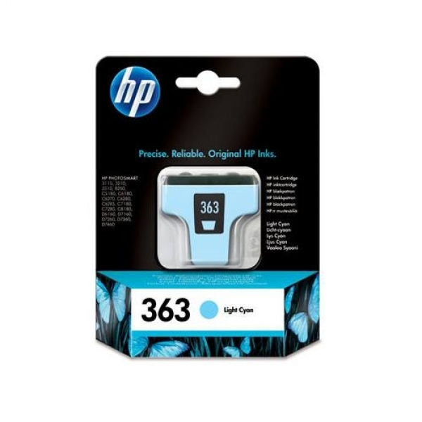 Cartus HP nr.363 ligh t cyan ptr.HP 8250/3210
