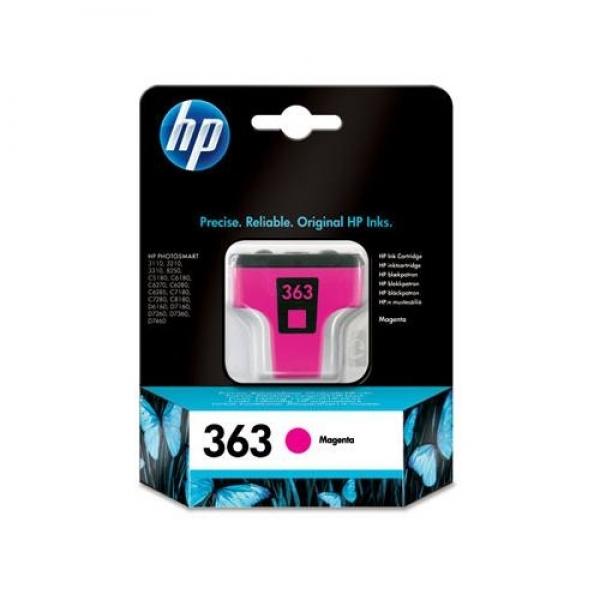 Cartus magenta HP nr. 363 C8772EE pt8250,3210
