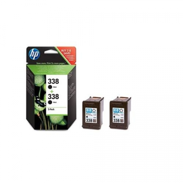Cartus negru HP nr.338 DOUBLE Pack (CB331EE)