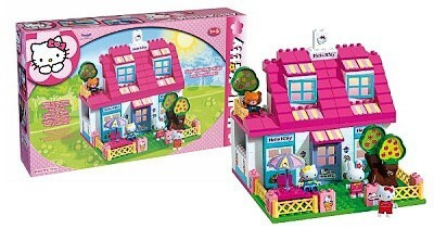 zzCasa Hello Kitty, 129 cuburi