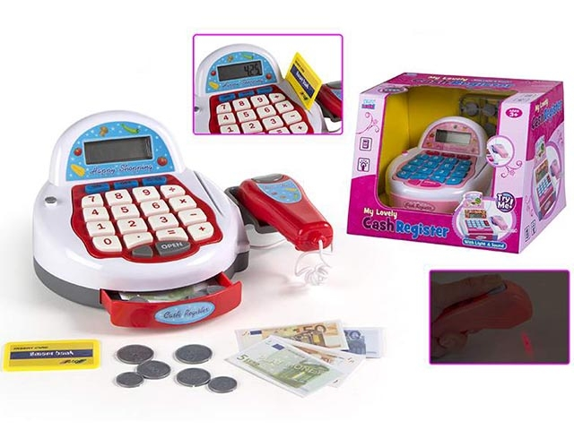 Casa marcat cu scaner,bani,Kidzcorner,40968