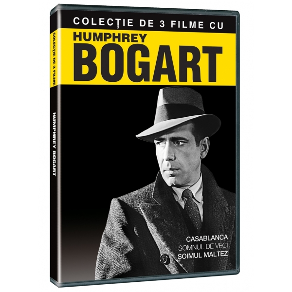 CASABLANCA /  BIG SLEEP /  MALTESE FALCON-COLECTIE 3 FILME: HUMPHREY BOGART