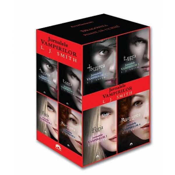 Caseta Jurnalele Vampirilor 1-4, Smith L.J.