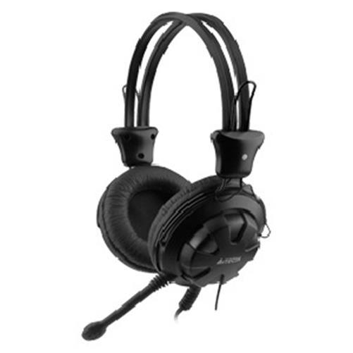 Casti A4TECH  Comfortfit, microfon pe fi