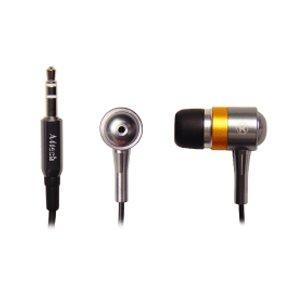 Casti A4Tech MK-610 in ear black-silver