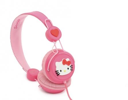 Casti Coloud HELLO KITTY hello kitty pink rubber