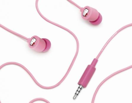 Casti Coloud InEar Hello Kitty Pink