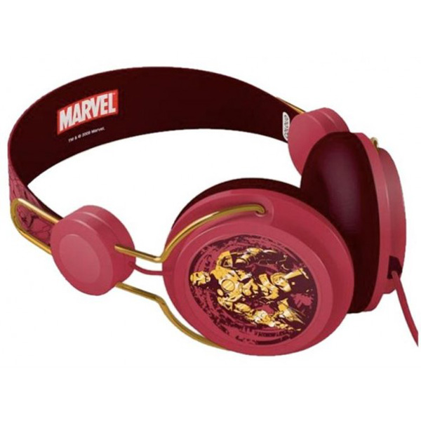 Casti Coloud Marvel Ironman Red