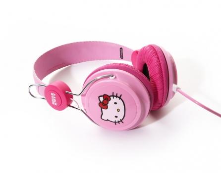 Casti ColoudHello Kitty Pink Label