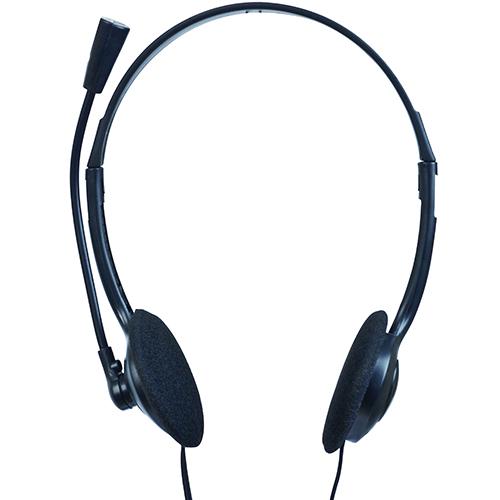 Casti cu microfon - clasice, control vol