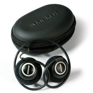 Casti Kicker HP301 cu etui inclus , black