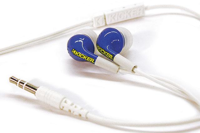 Casti Kicker Noise Isolation EB71, blue