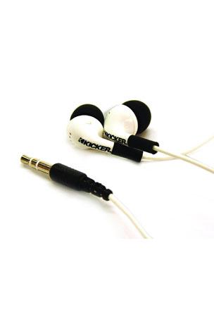 Casti Kicker Noise Isolation EB71, white