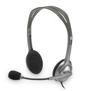 Casti Logitech H110 cu microfon