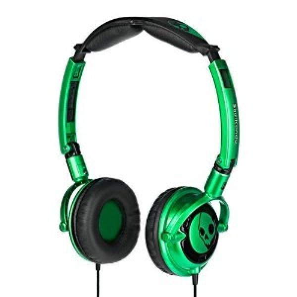 Casti Skull Candy Lowrider Green Black