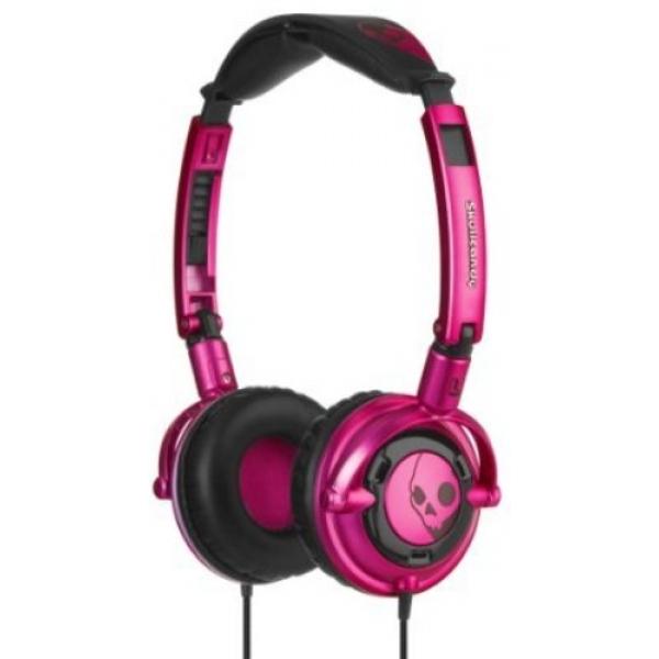 Casti Skull Candy Lowrider Pink Black