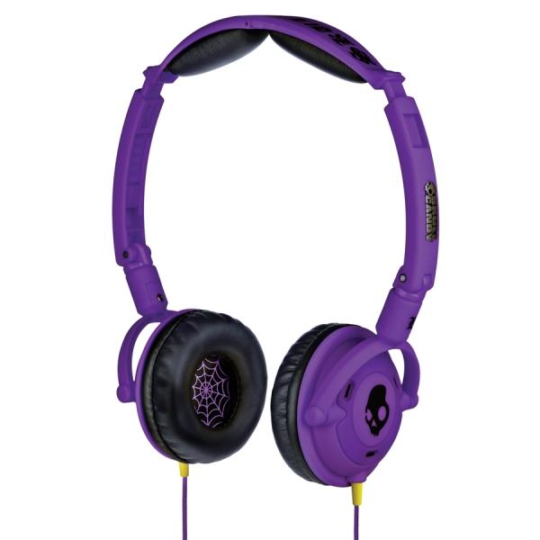 Casti Skull Candy Lowrider Shoe Purple cu Mic