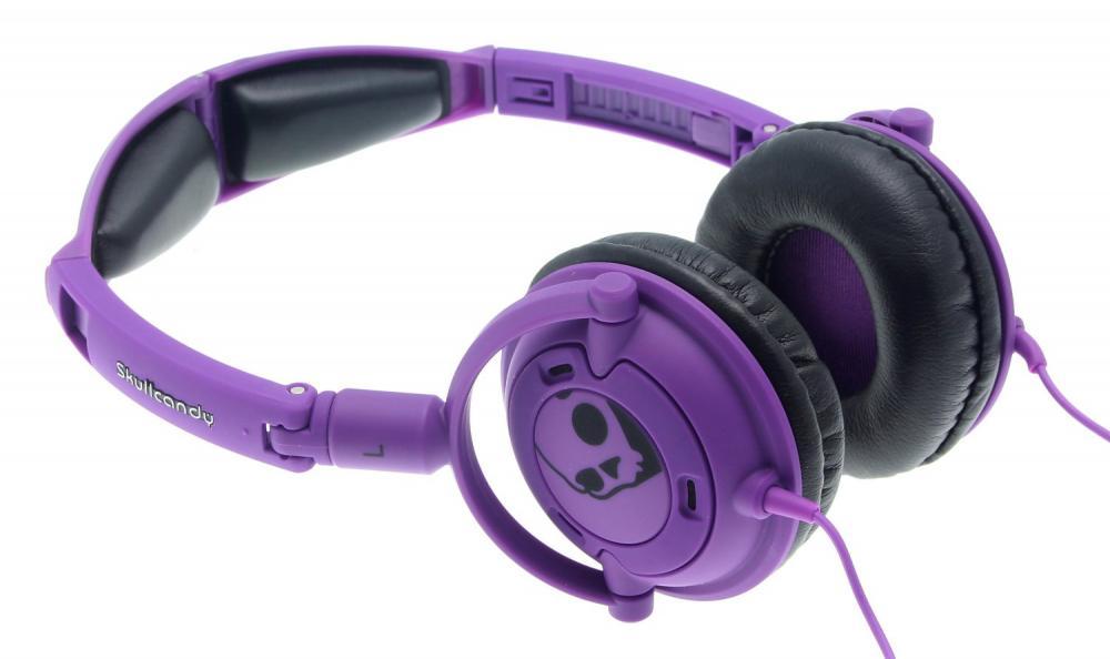 Casti Skullcandy Lowrider Athletic Purple Mic