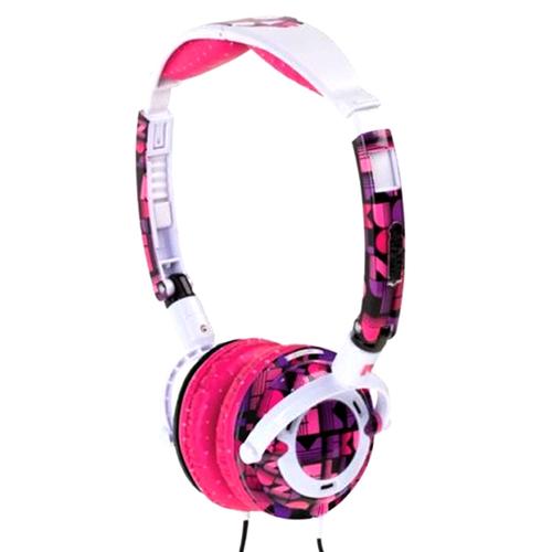 Casti Skull Candy LowriderPurple/white/pink