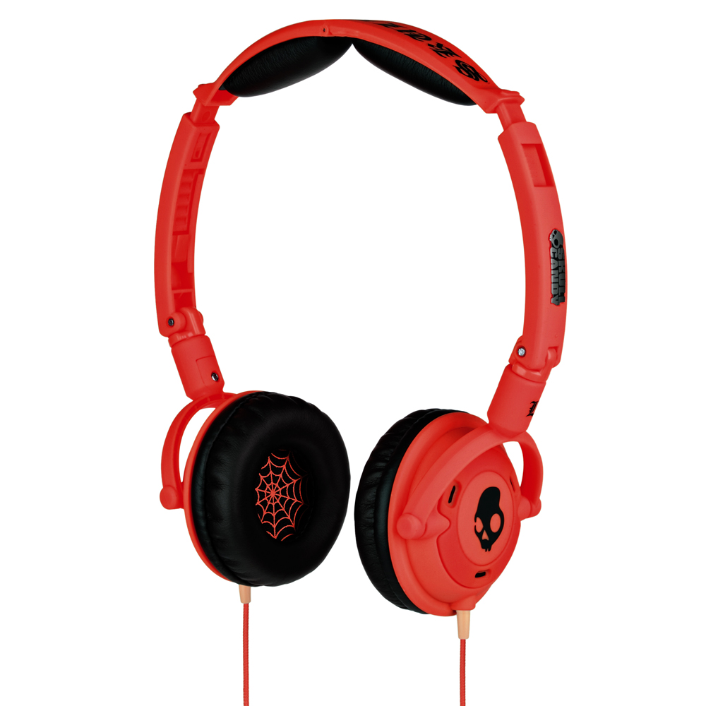 Casti Skullcandy Lowrider Shoe Red