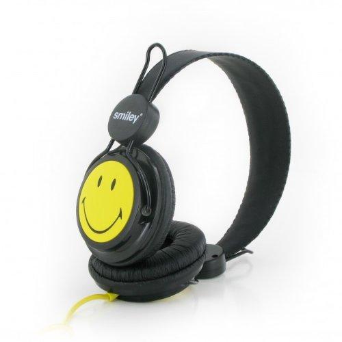 Casti Smiley Original,negru/galben