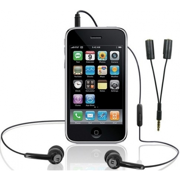 Casti/HF Macally Stereo splitter pt iPhone