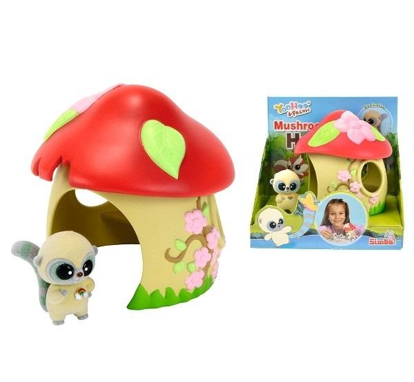 Casuta ciuperca cu figurina,Yoohoo&friends