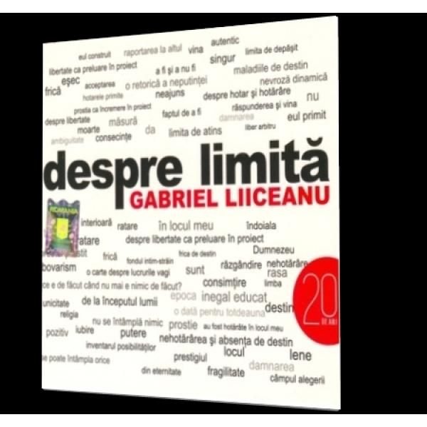 Despre limita, Gabriel Liiceanu (CD)