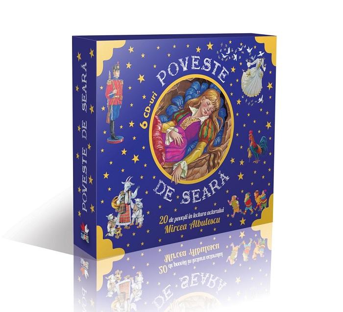 CD POVESTE DE SEARA. 6 CD-URI