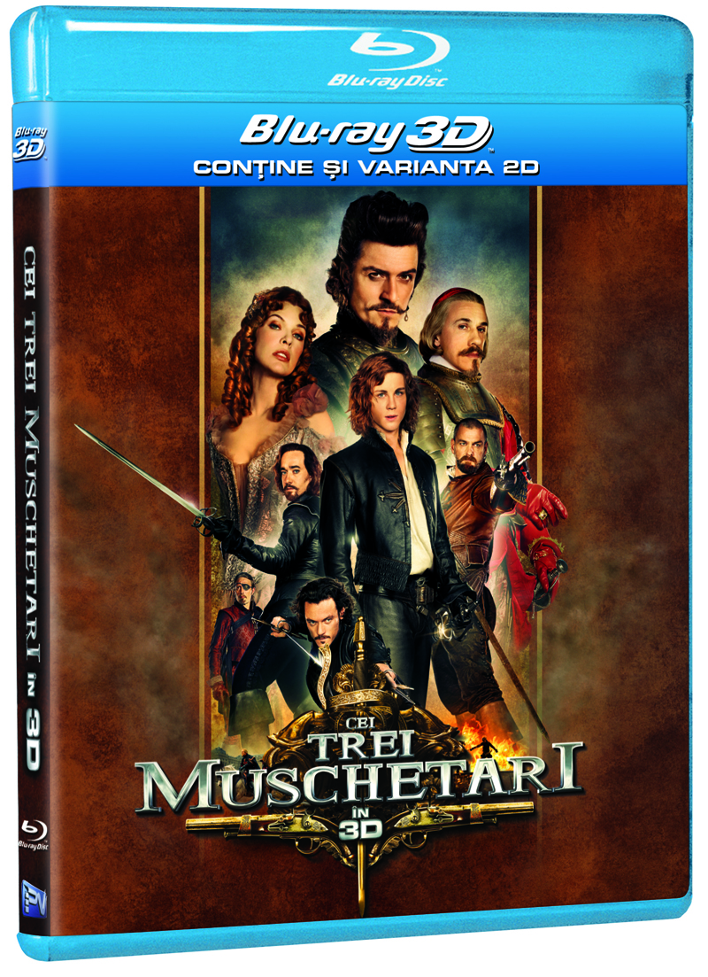 CEI TREI MUSCHETARI 3D/2D (BD)-THE THREE MUSKETEERS
