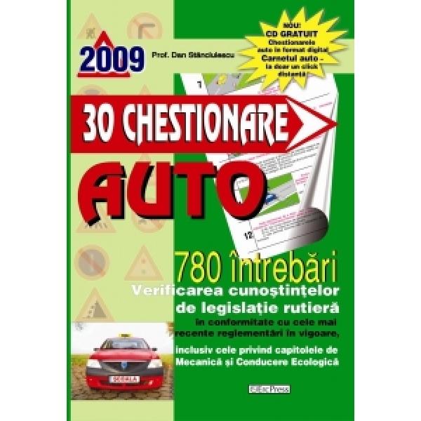 30 Chestionare Auto 2009, Prof. Dan Stanciulescu