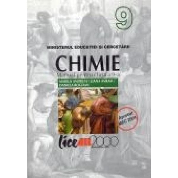 Chimie, Manual, Clasa a IX a, Marius Andruh, Liana Avram