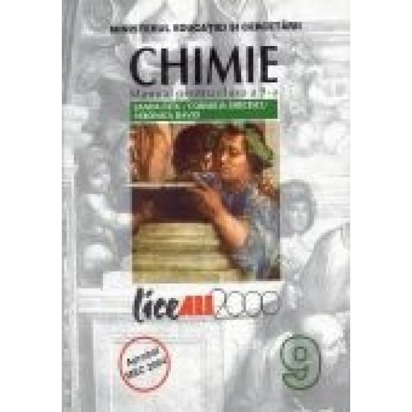 Chimie, Manual pentru Clasa a IX a, Sanda Fatu, Cornelia Grecescu