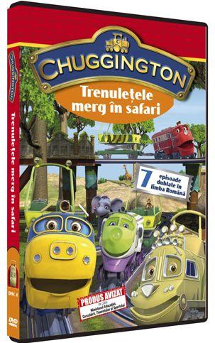CHUGGINGTON DVD 4 - TRENULETELE MERG IN SAFARI