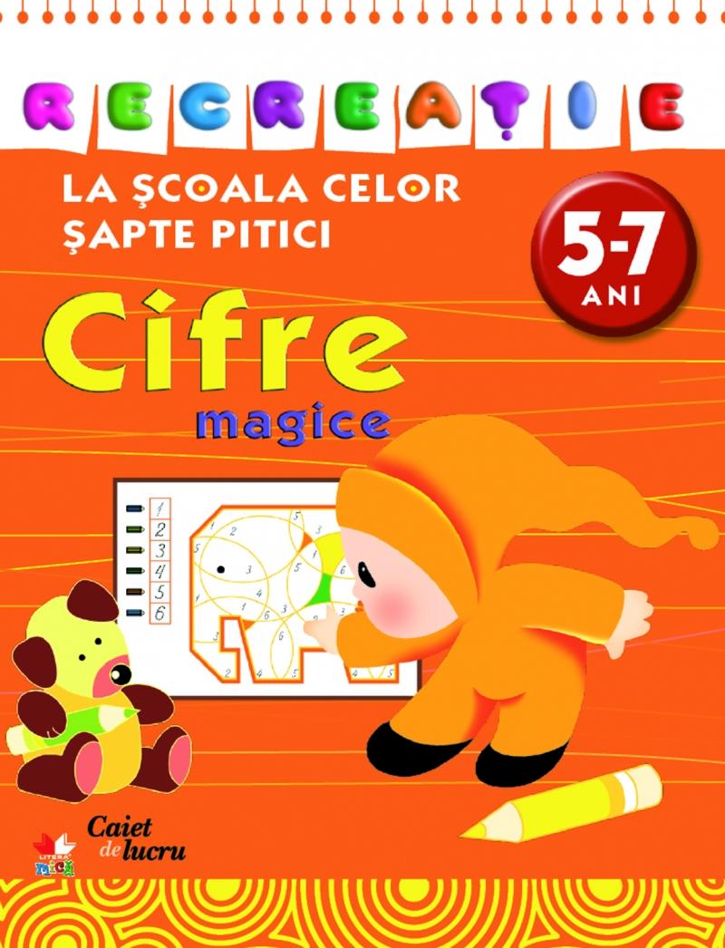 CIFRE MAGICE 5-7 ANI