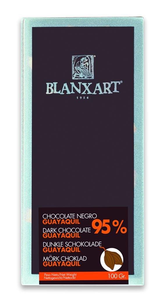 Ciocolata Blanxart 100g , Neagra 95% Guayaquil