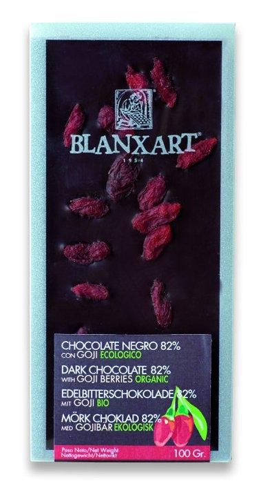 Ciocolata Blanxart 100g , Neagra Goji