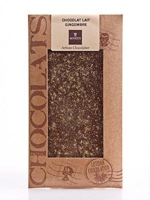 Ciocolata Bovetti 100g Lapte Ghimbir