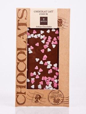Ciocolata Bovetti 100g Lapte Inimioare