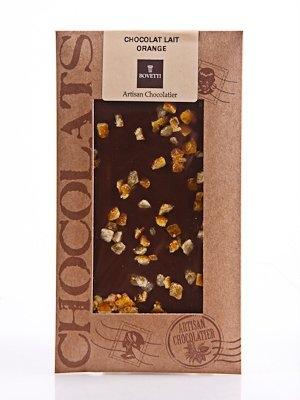 Ciocolata Bovetti 100g Lapte Portocale